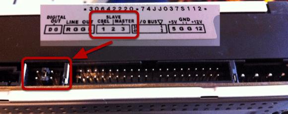 slave master computer hard drive