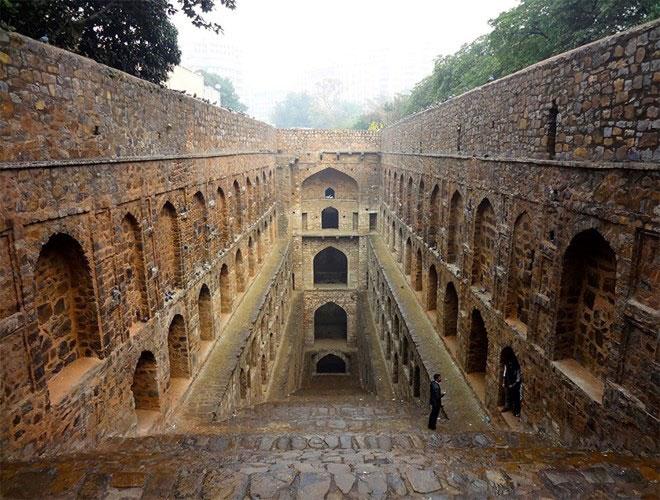 underground castle india
